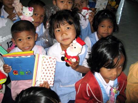 タイの子供たち