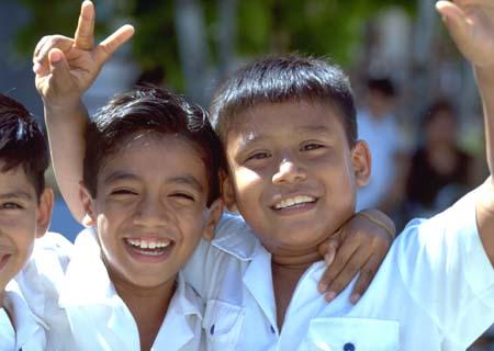 メキシコの子供